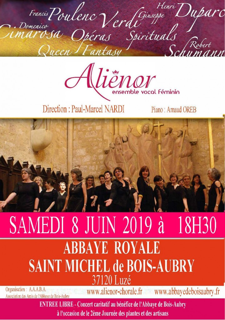 8 JUIN 2019 ABBAYE ROYALE SAINT MICHEL DE BOIS -AUBRY VD